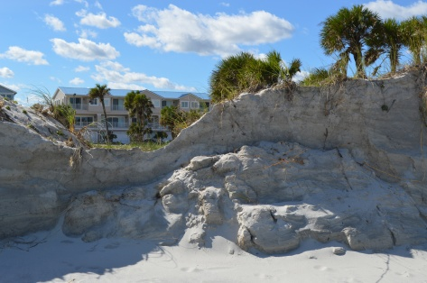 Post-Hurricane Matthew beach erosion
