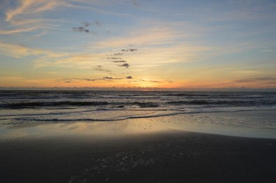 Sunrise at Jacksonville Beach